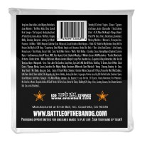 Ernie Ball Hybrid Slinky Stainless Steel Electric Bass Strings - 45-105 Gauge - Back