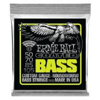 Ernie Ball Regular Slinky Coated Electric Bass Strings - 50-105 Gauge