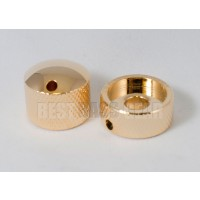 Glockenklang - Euro-Style Stacked Concentric Dome Knob - Gold