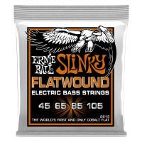 Ernie Ball Hybrid Slinky Flatwound Electric Bass Strings - 45-105 Gauge