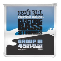 Ernie Ball Flatwound Group III Electric Bass Strings