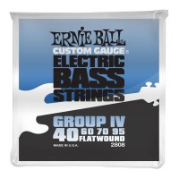 Ernie Ball Flatwound Group IV Electric Bass Strings
