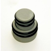 Hipshot Stacked O-Ring Knob - Satin