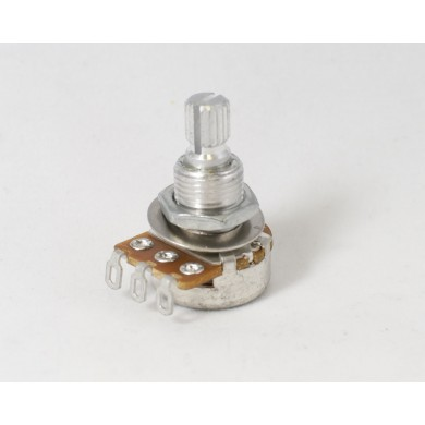 Alpha 500k Volume Potentiometer Audio Taper 6mm Split Shaft
