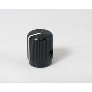 Small Black Aluminum Knob