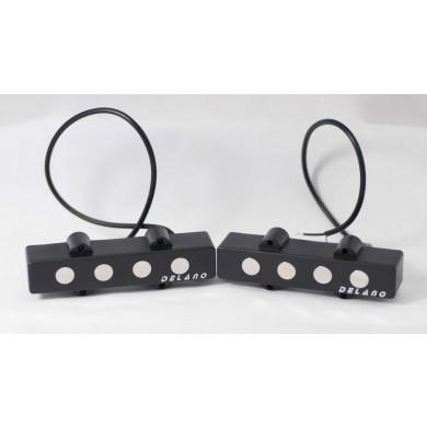 Delano JMVC4 FE/M2 4 String Jazz L/S Size Split Coil Set