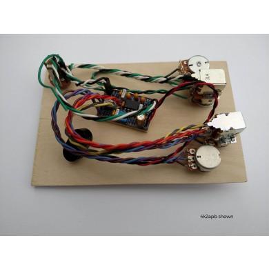 Vannetti V2B 2-Band Prewired Preamp