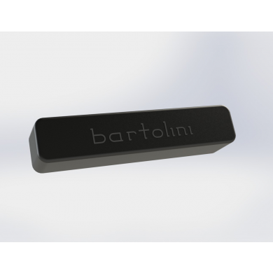 Bartolini X44J1-T 4 String X4 Size Deep Tone Split Coil Bridge Pickup