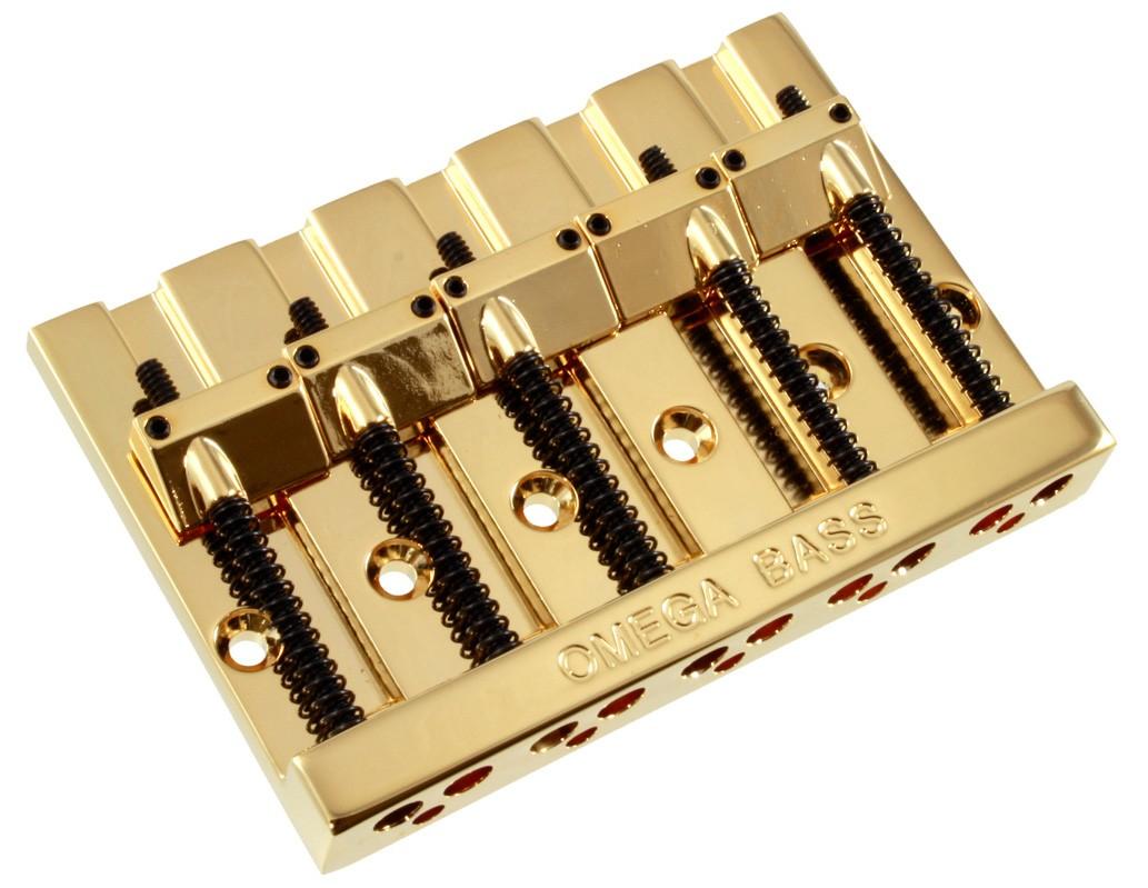 Omega 5 String Bass Bridge Best Bass Gear