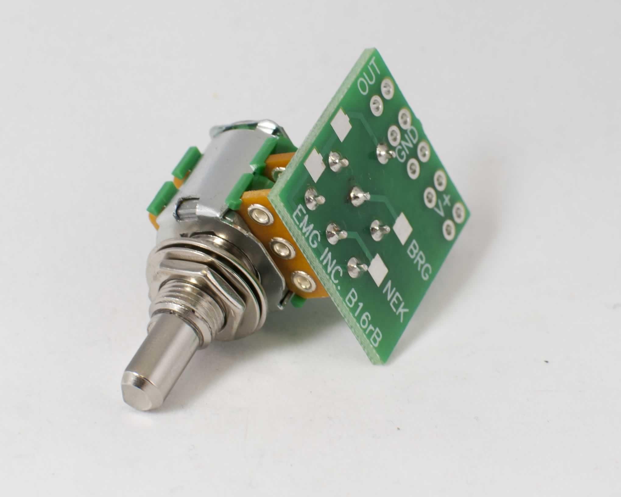 EMG 25k Blend Potentiometer 6mm Solid Shaft Blend Pot Wiring Diagram Emg Old on