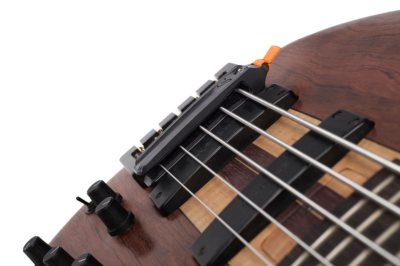 Gruv Gear Fump 5 Black Bridge Mute for 4 /& 5 String Bass Guitars