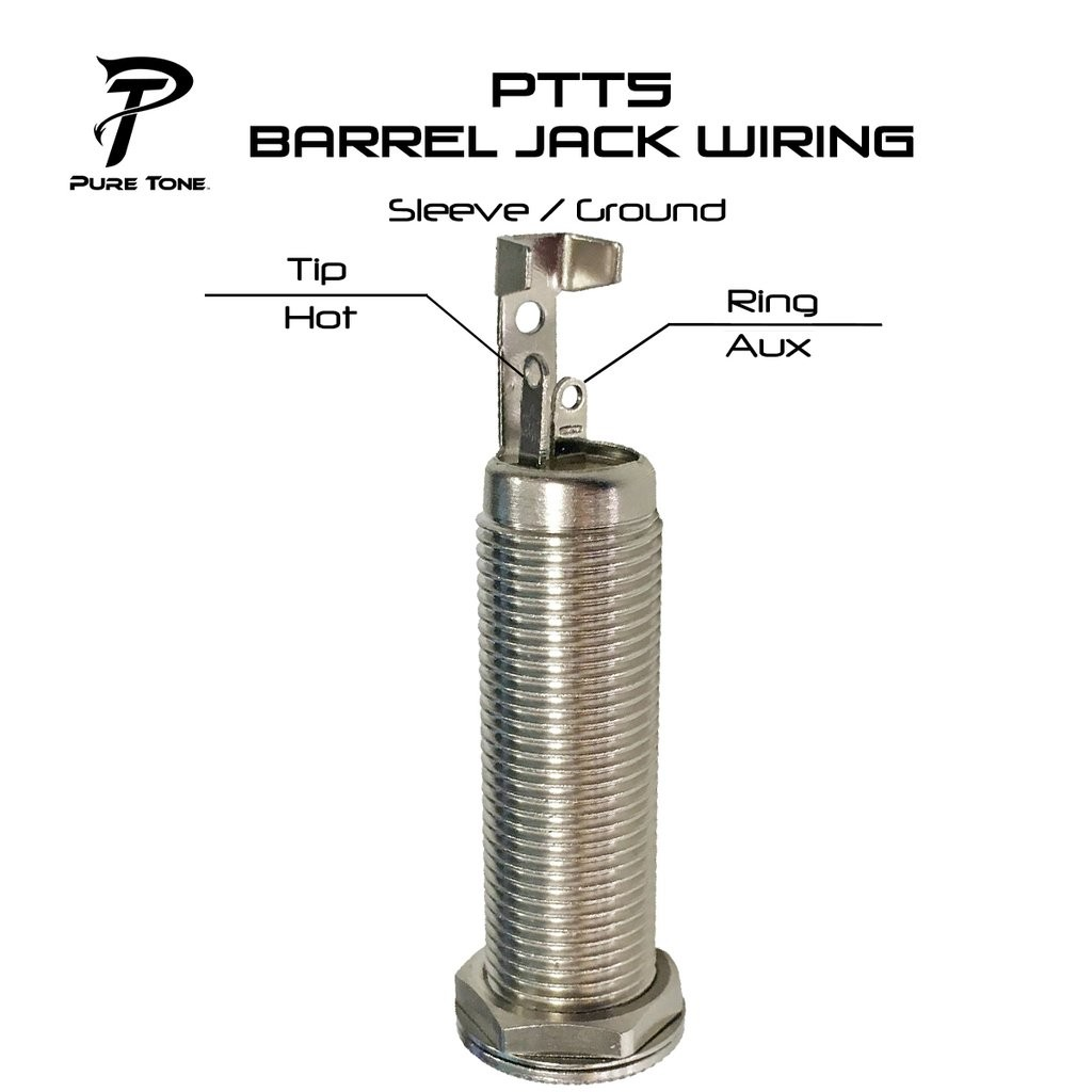 Pure Tone Mono/Stereo 1/4in. Barrel Jack - Best Bass Gear