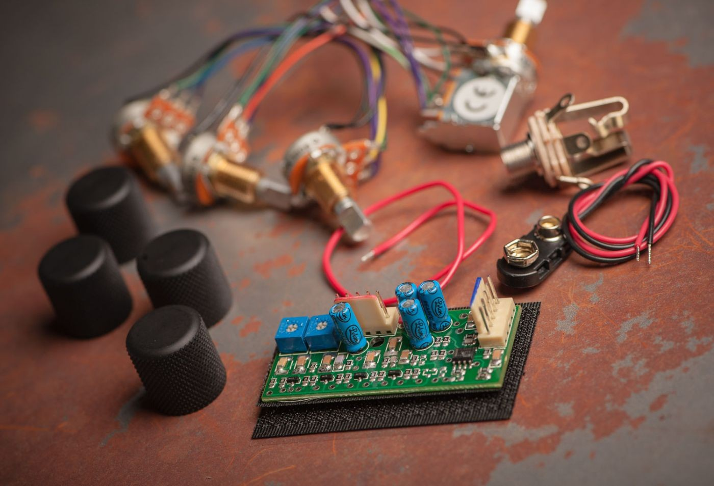 Seymour Duncan Stc-3m4 3 Band Tone Circuit