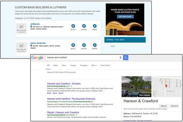 Business Listing Google